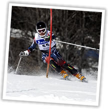 Testimonial from competitive ski racer who had suffered from knee pain